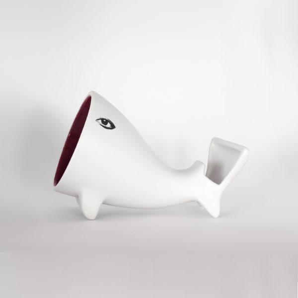 Vista Altofalante Balea, vermello.
