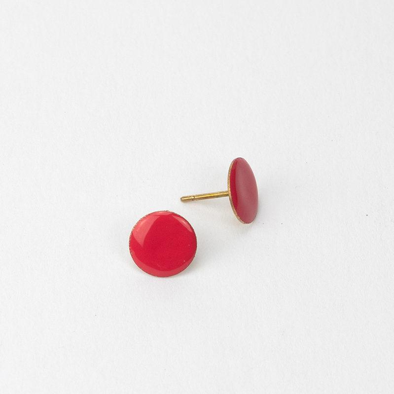 Pendente botón coral. atontaylarubia